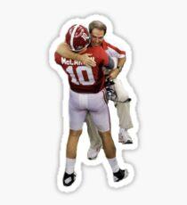 Saban Hugging McCarron Sticker