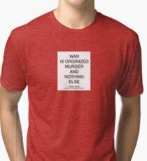 Pro Peace Quote Tri-blend T-Shirt