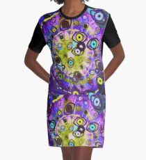 That Thing She Does With Her Eyes Graphic T-Shirt Dress