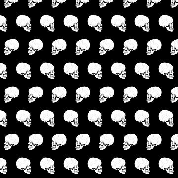 Patrón de cráneo de skinnyginny