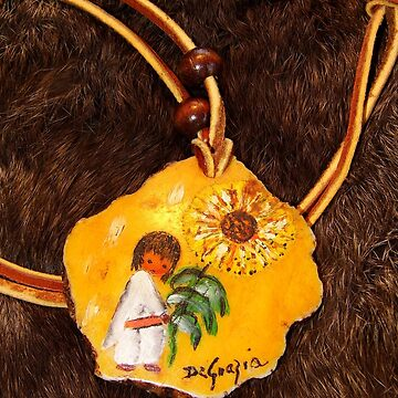 Vintage Necklace by WildestArt