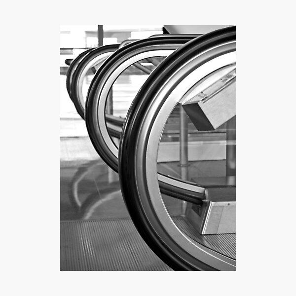 Black Curves Photographic Print