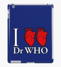 I Heart Heart Dr Who iPad Case/Skin