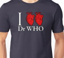 I Heart Heart Dr Who Unisex T-Shirt