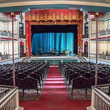 Cuba. Santa Clara. Teatro la Caridad. Interior. by vadim19