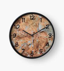 Shale rock surface texture Clock