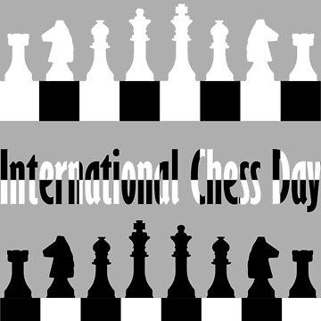 International Chess Day 20th July , Chess Player by zaysa