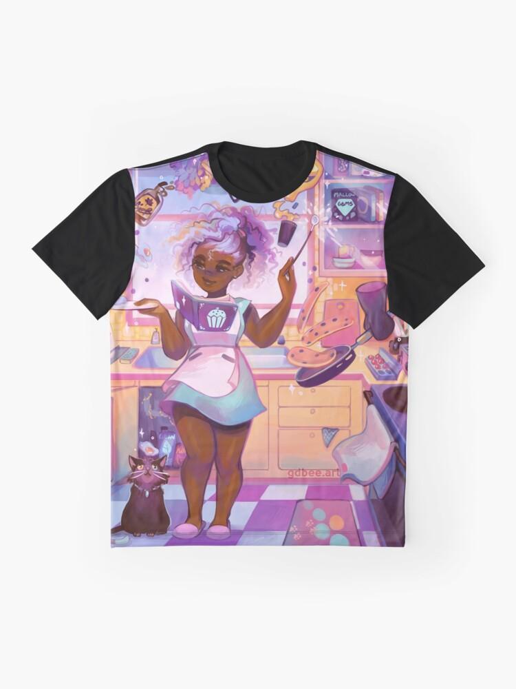 Alternate view of Breakfast Graphic T-Shirt