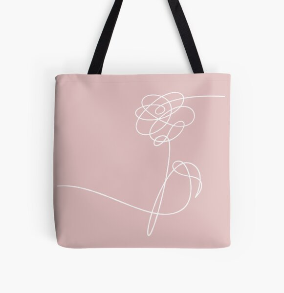 BTS Love Yourself All Over Print Tote Bag
