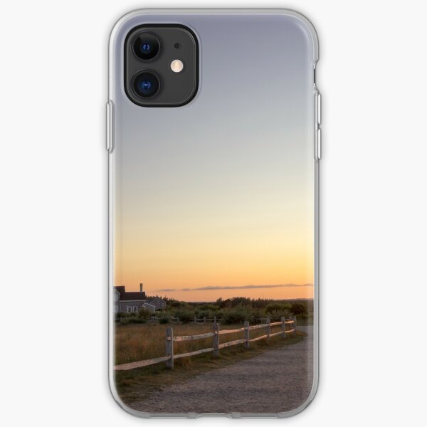 Cape Cod Lighthouse at Sunset iPhone Soft Case