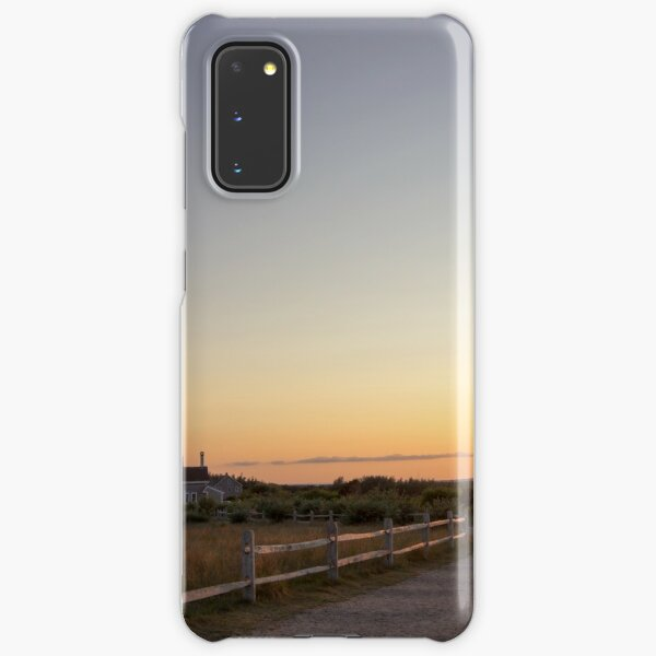Cape Cod Lighthouse at Sunset Samsung Galaxy Snap Case