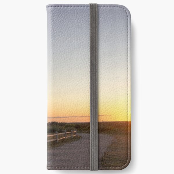 Cape Cod Lighthouse at Sunset iPhone Wallet