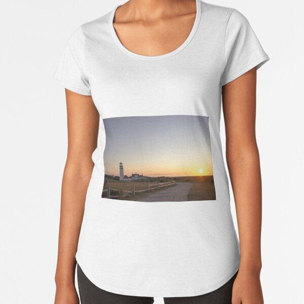 Cape Cod Lighthouse at Sunset Premium Scoop T-Shirt