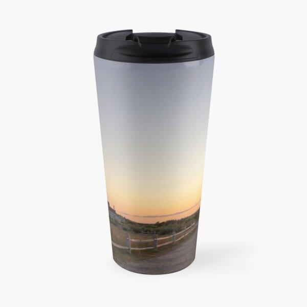 Cape Cod Lighthouse at Sunset Travel Mug