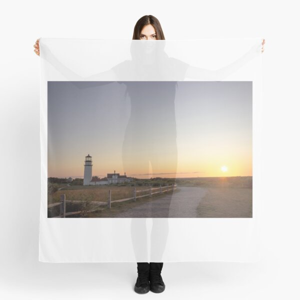 Cape Cod Lighthouse at Sunset Scarf