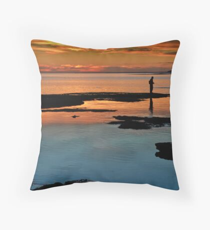 Sorrento Sunset Throw Pillow