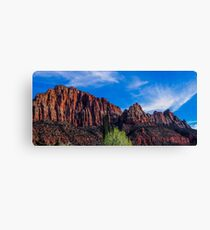 Zion National Park - The Altar of Sacrifice Canvas Print