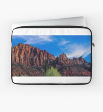 Zion National Park - The Altar of Sacrifice Laptop Sleeve