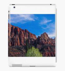 Zion National Park - The Altar of Sacrifice iPad Case/Skin