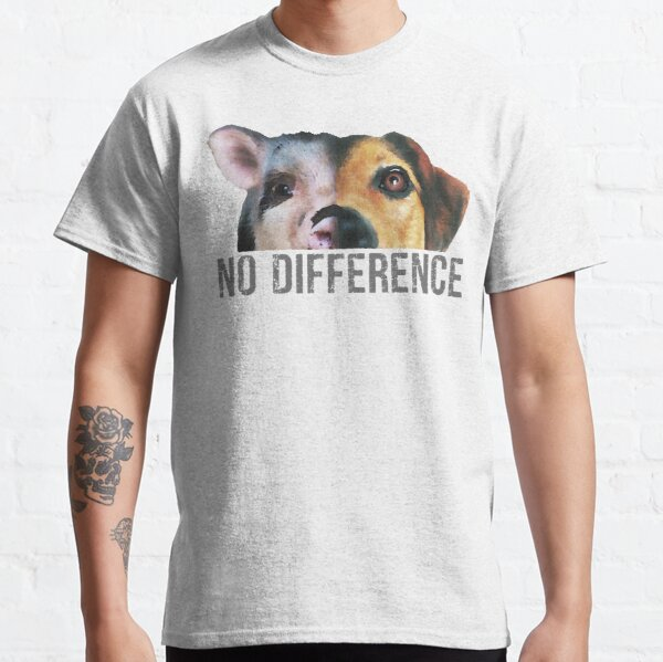 No Difference - Watercolor  Classic T-Shirt