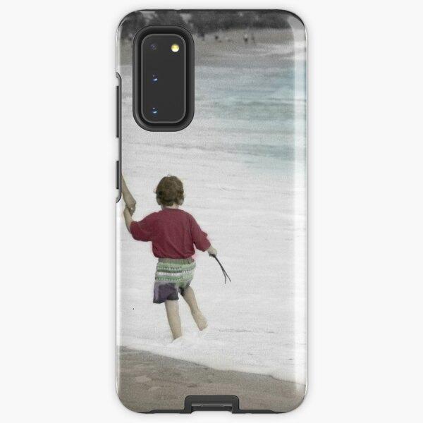 Walking the Painted Beach Samsung Galaxy Tough Case