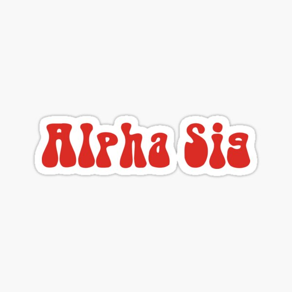 Alpha Sigma Rho Sticker