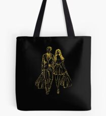 couple is shopping Tote Bag