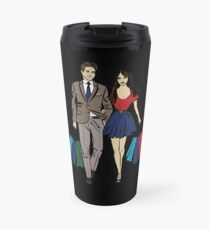 couple shopping Travel Mug