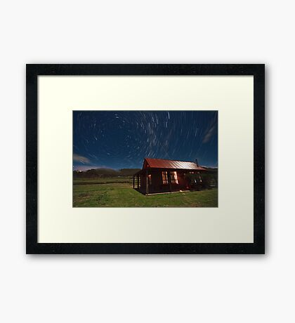 Higher Country Framed Print
