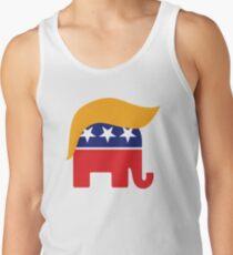 Camiseta de tirantes Donald Trump Hair GOP Elephant Logo © TrumpCentral.org