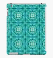 motion colorful color wave smoke seamless repeat pattern iPad Case/Skin