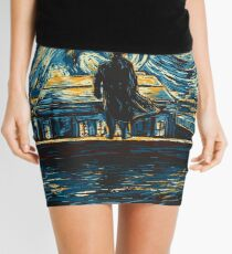 Starry Fall (Sherlock) Mini Skirt