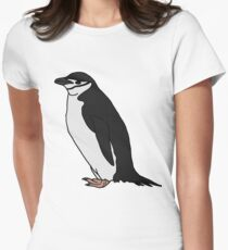 Chinstrap Penguin Women's Fitted T-Shirt