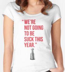Camiseta entallada de cuello redondo Cita de Alex Ovechkin Washington Capitals: no nos vamos a chupar este año