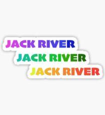 JACK RIVER Sticker