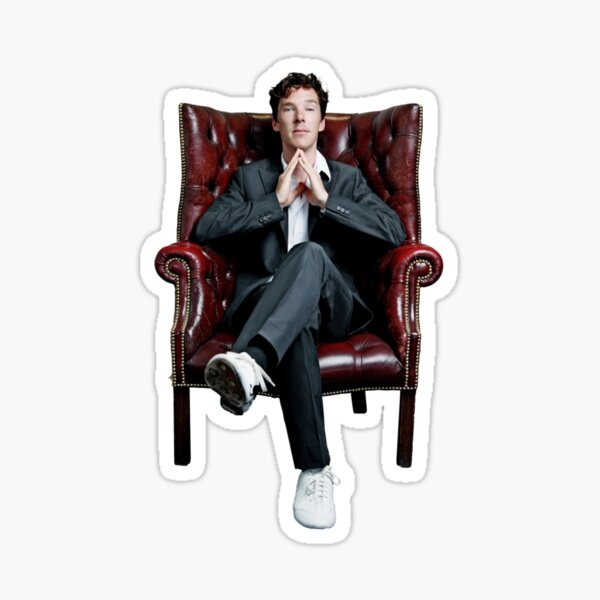 Benedict Cumberbatch Sticker Sticker