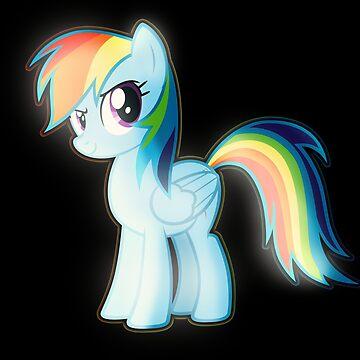 Rainbow Dash 2 by DarkSatanicorn