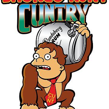 Drongo Kunt Country - Donkey Kong  by rockbottomau