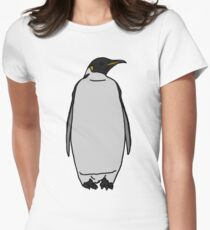 Emperor Penguin Women's Fitted T-Shirt