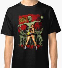 Zombie Killer Cheerleader Classic T-Shirt