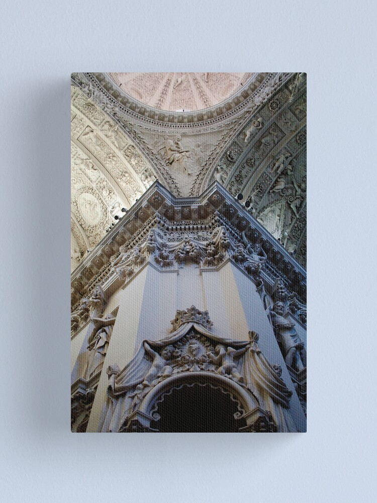 Alternate view of baroque Canvas Print