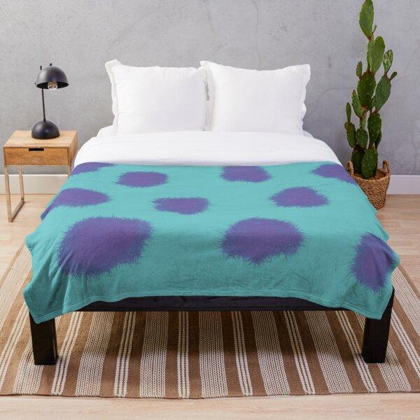 Sully Monster Throw Blanket