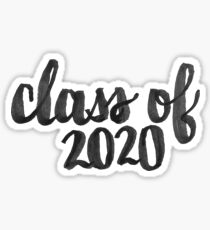 Inkbrush - Class of 2020 Sticker