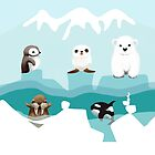 Arctic Friends by Karin Taylor