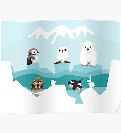 Arctic Friends Poster