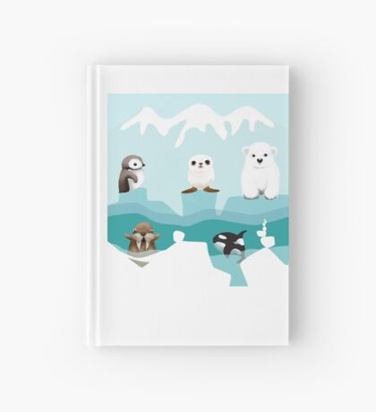 Arctic Friends Hardcover Journal