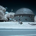 Round Barn Infrared by mal-photography