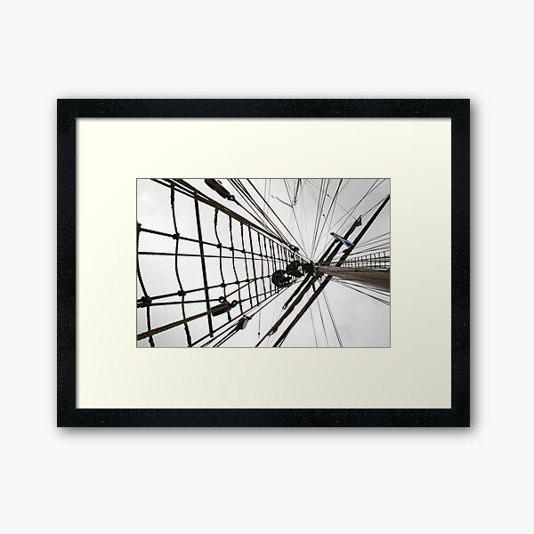 Climbing High Framed Art Print