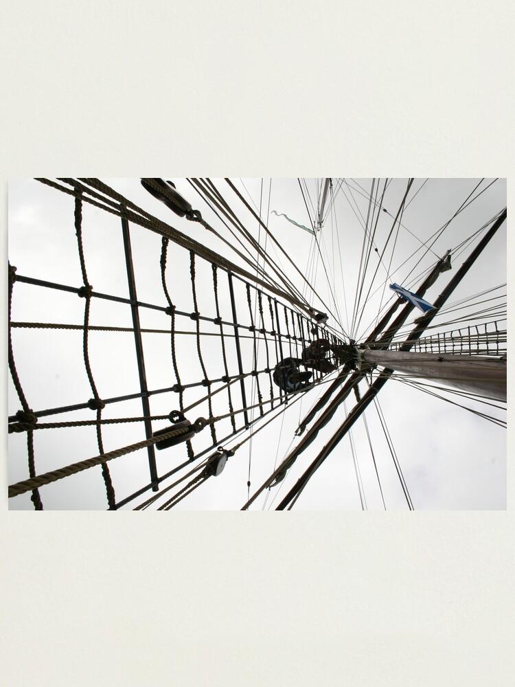 Alternate view of Climbing High Photographic Print