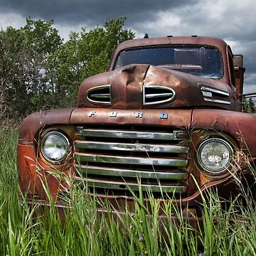 VINTAGE FORD FARM TRUCK  by TheresaTahara